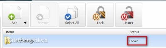 Cài pass cho Folder, đặt mật khẩu cho Folder, có hướng dẫn 4