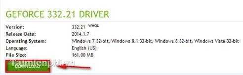 Cập nhật card NVIDIA, update driver card màn hình NVIDIA mới nhất 3