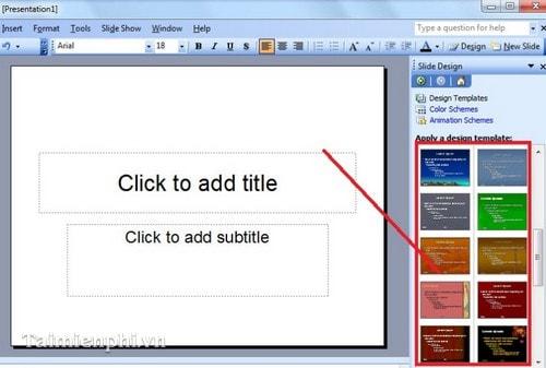 insert slide in powerpoint template, Modern powerpoint