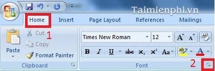 thay doi khoang cach chu trong word 2007