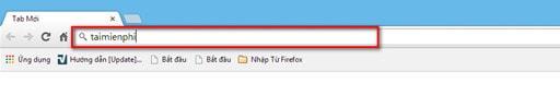 Google Chrome – Sử dụng chức năng tìm kiếm