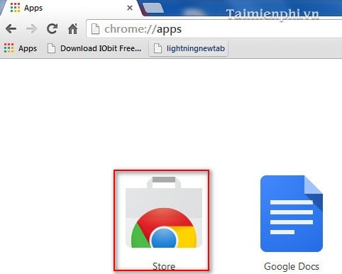 Google Chrome - How to use the Web Store utility on your browser