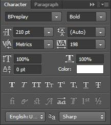 Photoshop - Tạo chữ nhựa vàng và bạc