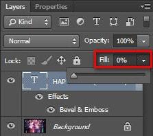 Cách tạo hiệu ứng chữ nổi bằng Photoshop