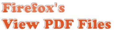 Đổi cách mở file PDF trên trình duyệt Firefox bằng phần mềm khác