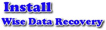cach cai Wise Data Recovery khoi phuc du lieu