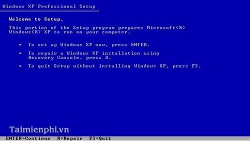 Cài đặt Win XP bằng USB cho PC, Laptop 6