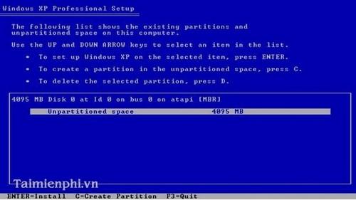 Cài đặt Win XP bằng USB cho PC, Laptop 8