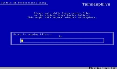 Cài đặt Win XP bằng USB cho PC, Laptop 11