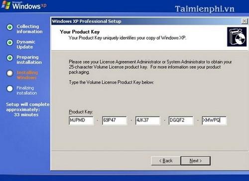 Cài đặt Win XP bằng USB cho PC, Laptop 16