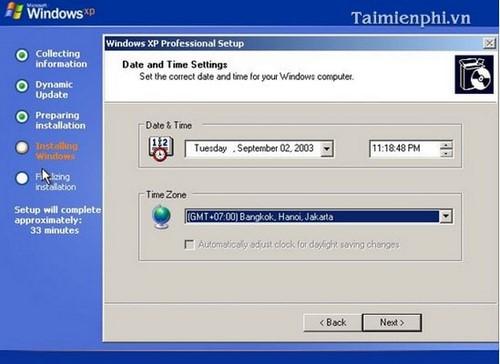 Cài đặt Win XP bằng USB cho PC, Laptop 18