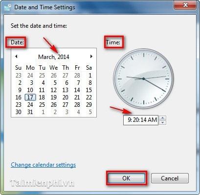 Cách chỉnh lại thời gian máy tính, ngày tháng năm, giờ bị sai 10