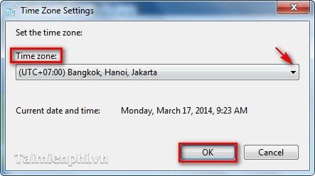 Cách chỉnh lại thời gian máy tính, ngày tháng năm, giờ bị sai 12