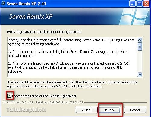 7 remix xp