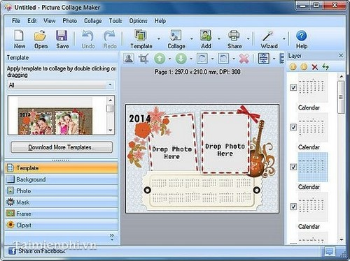 Top 5 phần mềm ghép ảnh vào khung đẹp nhất, có hướng dẫn 3