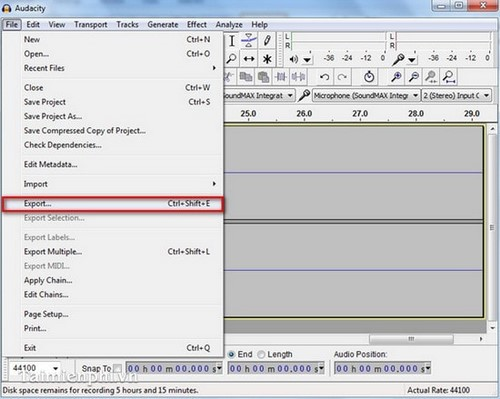 Download phần mềm Audacity Full Crack Tiếng Việt link Google Drive 2021 5