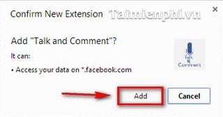 Facebook - Gửi tin nhắn thoại và bình luận bằng âm thanh trên Chrome