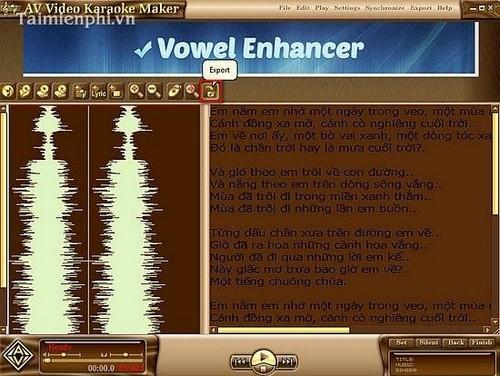 Làm nhạc Karaoke, phần mềm tạo bài hát Karaoke miễn phí, có hướng dẫn