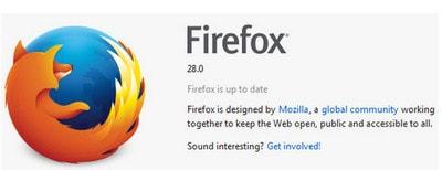 Firefox 28 lot xac ve tinh nang va giao dien