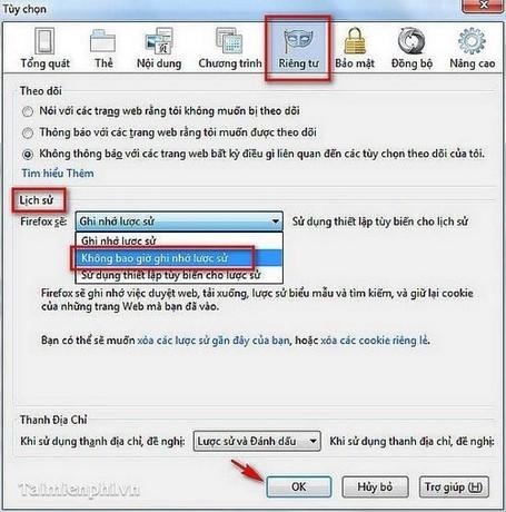 Tải Web nhanh trên trình duyệt Firefox