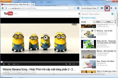 Cách tạo ảnh động từ Video trên YouTube