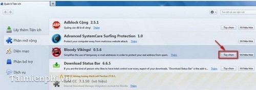Tạo Email sử dụng một lần duy nhất trong Firefox với Bloody Vikings