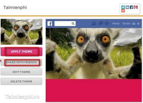 Facebook - Tạo Theme trên trang Facebook cá nhân