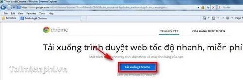 Thay thế trình duyệt Internet Explorer (IE) bằng Google Chrome