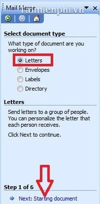 Cách trộn thư trong Word, trộn văn bản Word 16