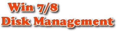 truy cap Disk Management tren Win 7/8
