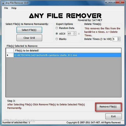 how to permanently delete a program on your computer