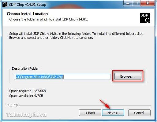 dp chip installation instructions