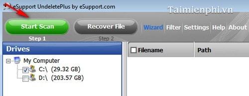 Cài và sử dụng Undelete Plus phục hồi dữ liệu bị xóa hiệu quả 8