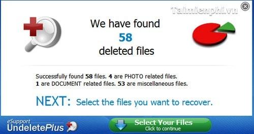 Cài và sử dụng Undelete Plus phục hồi dữ liệu bị xóa hiệu quả 9