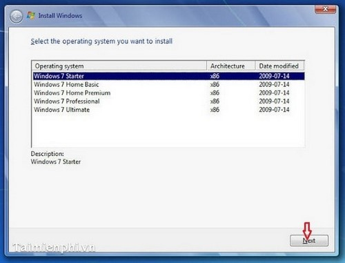cai windows 7 bang dia dvd