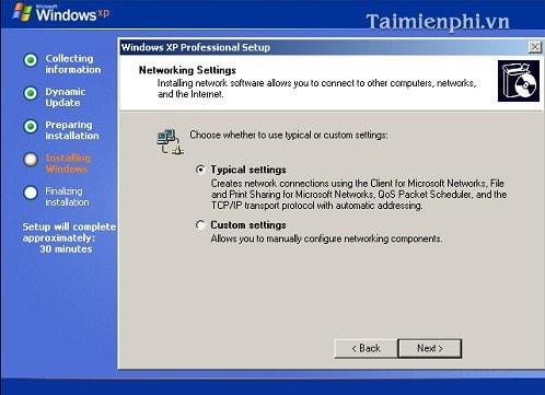 Cài Win XP từ ổ đĩa CD, setup Windows XP qua ổ đĩa CD, DVD 15