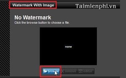 Chèn logo vào video trong Proshow Producer 4