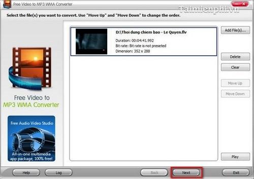 Top phần mềm chuyển đổi Video sang MP3 trên máy tính 2