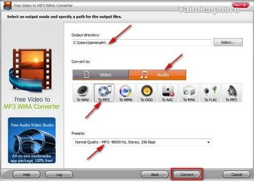 Top phần mềm chuyển đổi Video sang MP3 trên máy tính 3