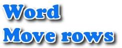 di chuyen hang trong word 2013