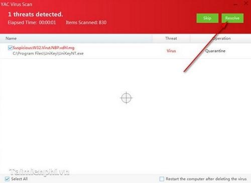 Yet Another Cleaner (YAC) - Cách diệt diệt Virus, Malware trên máy tính 4