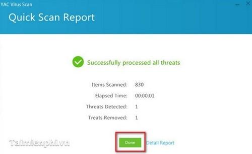 Yet Another Cleaner (YAC) - Cách diệt diệt Virus, Malware trên máy tính 5