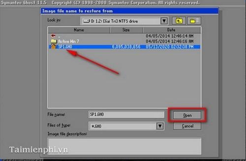 cách ghost windows 7, Ghost Win 7 32bit 64bit bằng USB 17