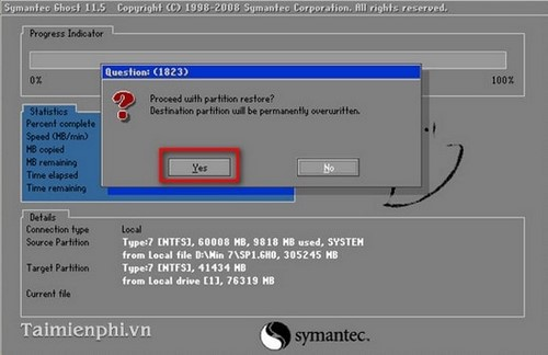cách ghost windows 7, Ghost Win 7 32bit 64bit bằng USB 20