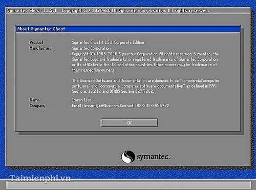 Cách ghost Win 7, ghost Windows 7 bằng đĩa Hiren Boot's CD 6