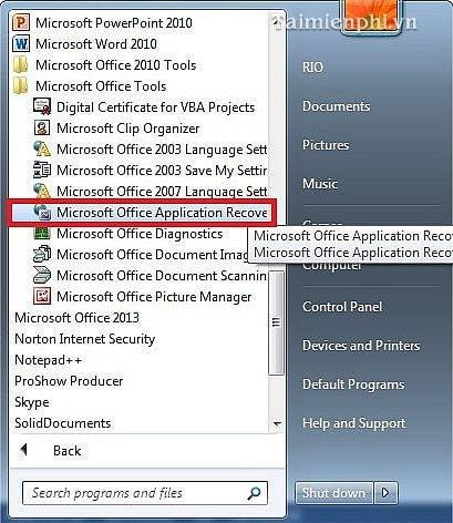 Sửa lỗi file Excel, khắc phục tập tin Excel bị lỗi trên PC nhanh chóng và hiệu quả 11