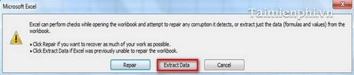 Sửa lỗi file Excel, khắc phục tập tin Excel bị lỗi trên PC nhanh chóng và hiệu quả 4