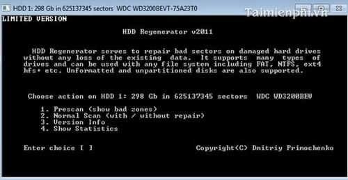 Tải phần mềm HDD Regenerator Full bản quyền mới nhất 2020 4