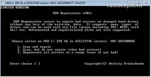 Tải phần mềm HDD Regenerator Full bản quyền mới nhất 2020 5