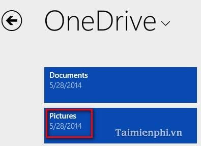 Chỉnh sửa ảnh bằng SkyDrive trong Windows 8.1